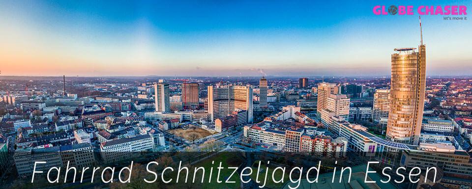 Fahrrad Schnitzeljagd in Essen im Ruhrgebiet | Globe Chaser entdecken
