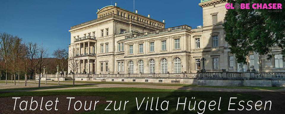 Villa Hügel Schnitzeljagd und Tablet Tour in Essen mit Globe Chaser App